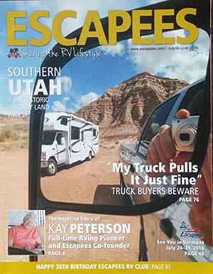 Escapees front cover July 2016