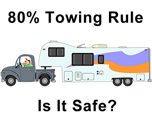 eighty percent towing rull is not safe