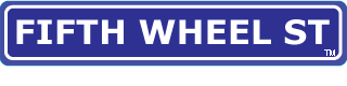 Fifth Wheel St. Logo and slogan.