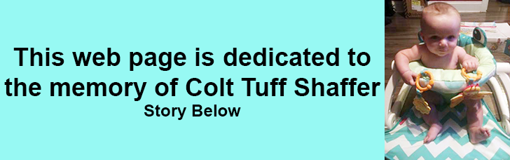in memory of colt tuff shaffer
