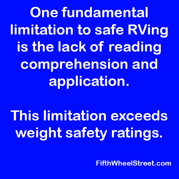 fundamental limitahtion to rving