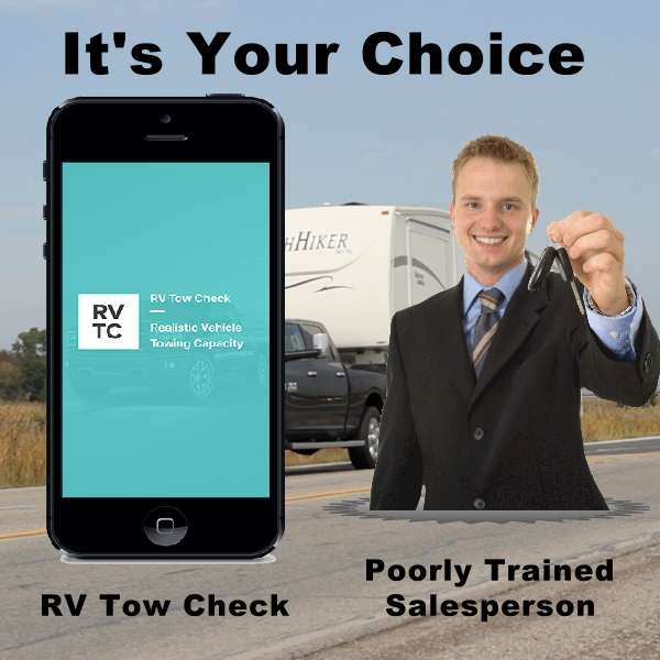 rv safety choice ignotant salesperson