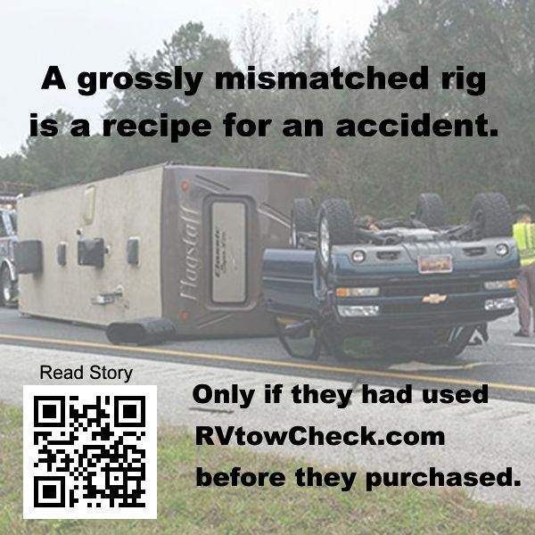 rv safety mismatched rig