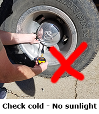 Step 4 - RV and Tow Vehicle Tire Inflation Procedures | Tire