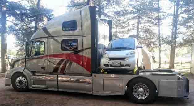 U Haul Trailer Sizes >> Heavy Duty Trucks HDT Towing RVs